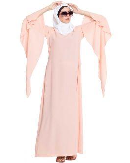 Buy Stylish Abayas Online-Pink
