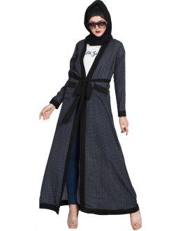 Modern Abaya Cardigan By Mushkiya