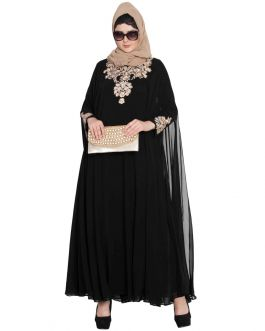 Designer Cape Dress In Two Pieces-Not An Abaya
