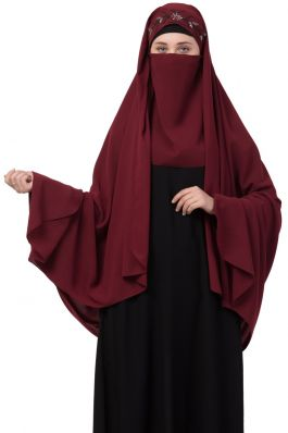 Mushkiya-Fancy Irani Chadar-Hijab For Mahrams