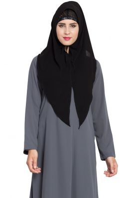 Ready To Wear- Instant Hijab With A Nose Piece