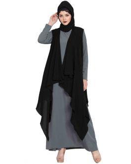 Sleeveless-Free Size Shrug For Any Dress